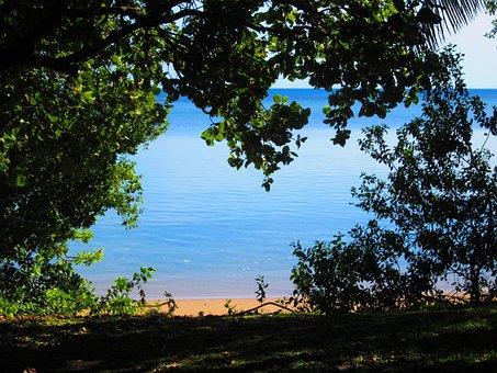 New Caledonia, Atlantic Ocean, Oceanfront, Blue, Water