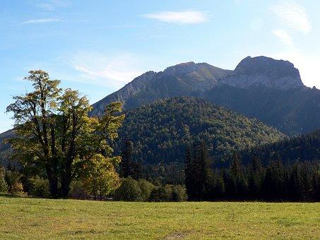 Slovakia, Vysoké Tatry, Mountains, Nature, Tatry