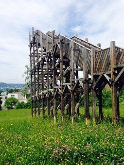 Viewpoint, Wood, Stairs, Zollikon, Zurich, Grass, Green