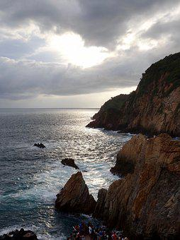 Sunset, Beach, Mexico, Acapulco