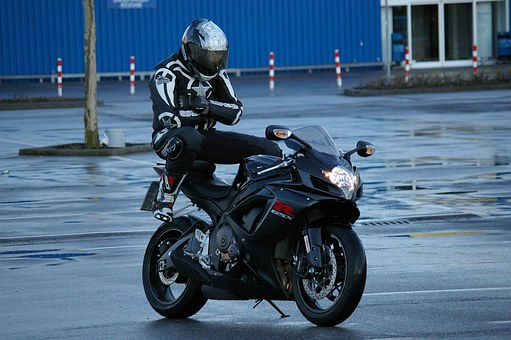 Man, Motorcycle, Pillion, Suzuki, Motorcyclist, Funny