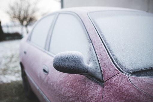 Car, Froze, Frozen, Frozed, Winter, Cold, Snow