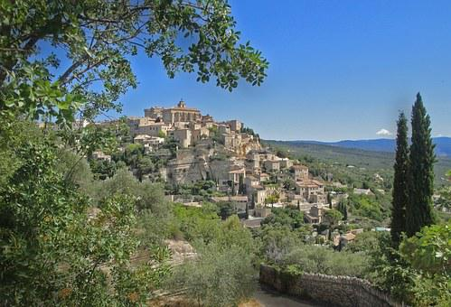 Sault, Provence, Middle Ages, France, South Of France