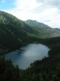 Mountains, Morskie Oko, Tatry, Landscape