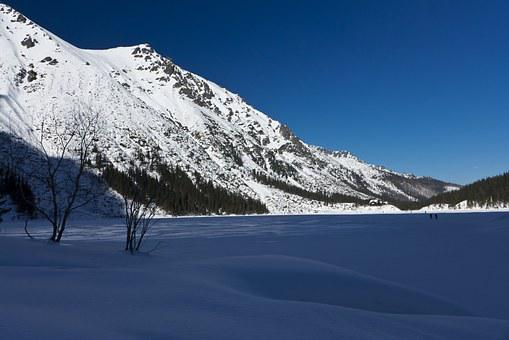 Tatry, Mountains, Winter In The Mountains, Sky, View