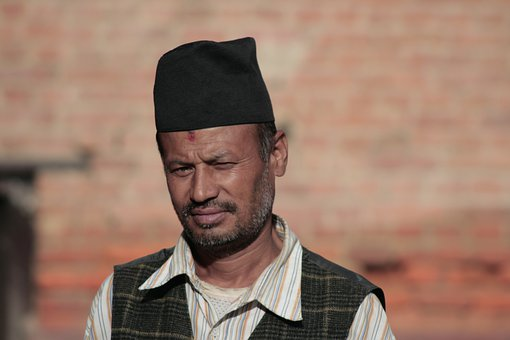 Man, Male, Nepal, Person, Face, Head, Portrait, Adult
