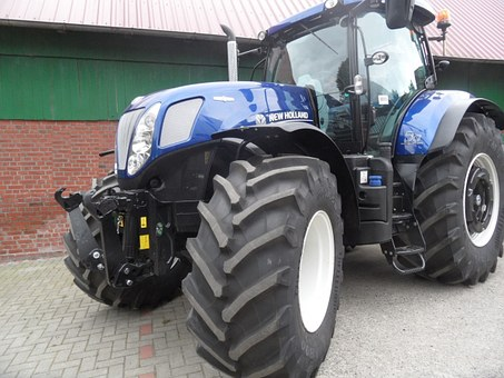 Tractor, New, Holland, Tug
