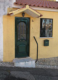 Door, House, The Façade Of The, City, Style, Street