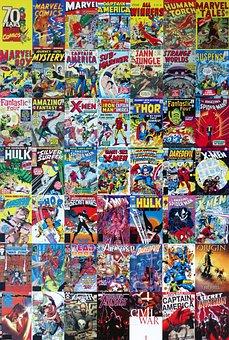 Marvel, Comics, Cartoon, Entertainment, Book, Culture