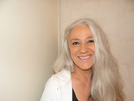 Woman, Gray Hair, Portrait, Life Coach, Coaching
