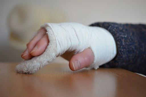 Joint Fracture, Gypsum, Fracture, Plaster, Ill, Medical