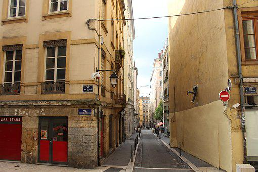 Lyon, France, Old Town, Architecture, City