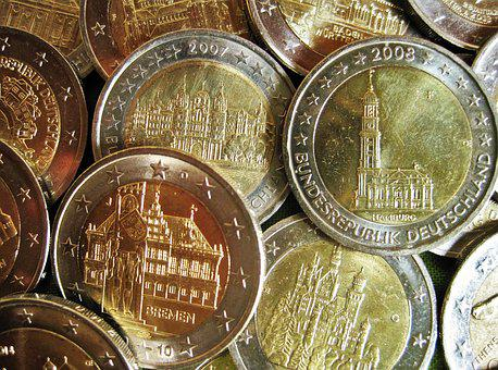 Euro Items, Special Coins, Money, Currency, Metal Money