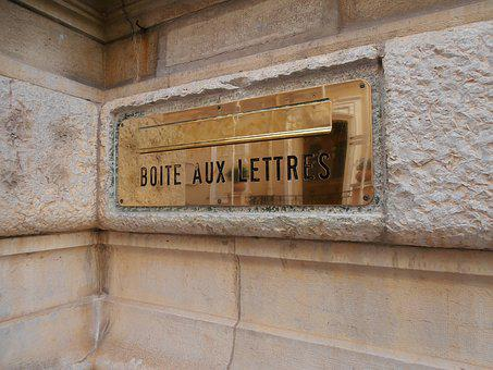 Mailbox, France, French, Monaco, Monte Carlo, Wall