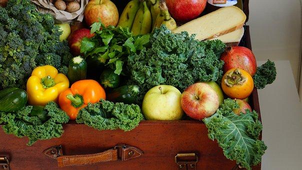 Market, Purchasing, Fruit, Vegetables, Healthy, Food