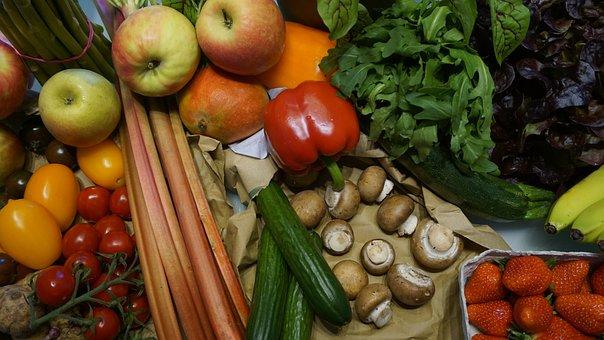 Fruits, Vegetables, Market, Nutrition, Fruit, Carrots