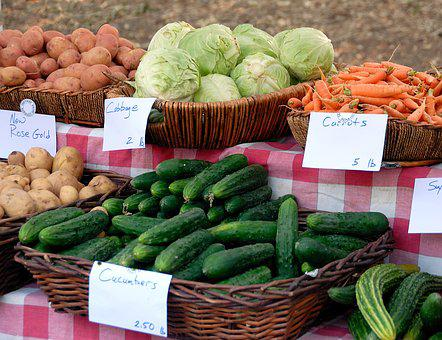 Vegetables, For Sale, Sell, Buy, Carrots, Assortment