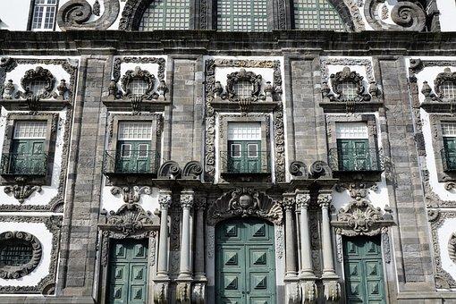 Ponta Delgada, Portugal, Azores, Island, Facade, Home