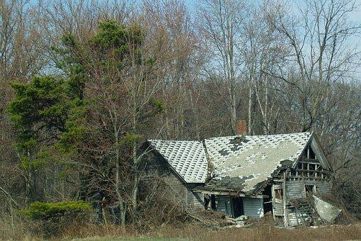 House, Destruction, Home, Building, Structure
