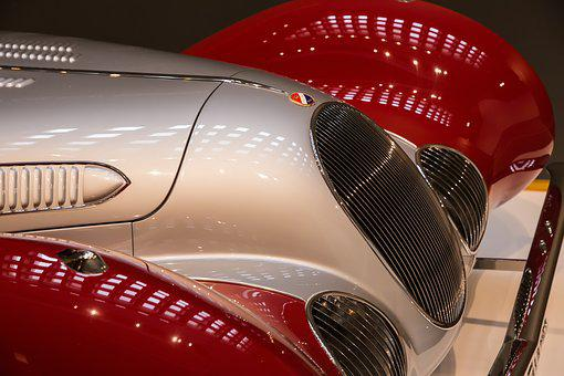 Car, 1938 Talbot-lago T-150c-ss Teardrop, Art Deco