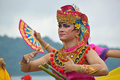 Bali, Indonesia, Travel, Temple, Temple Dancer, Dancers