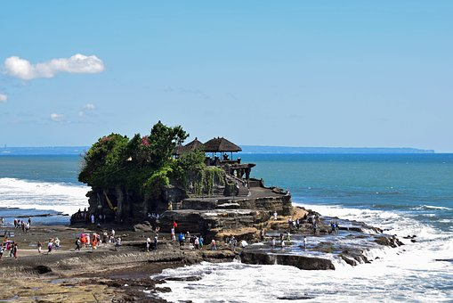 Bali, Indonesia, Travel, Temple, Tanah Lot, View