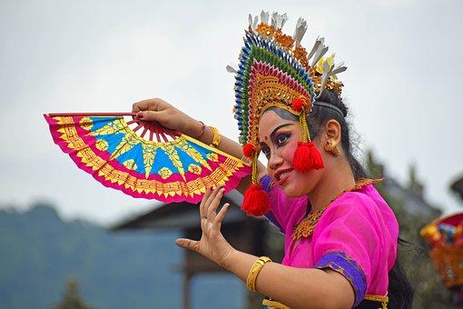 Bali, Indonesia, Travel, Temple, Temple Dancer, Dancer