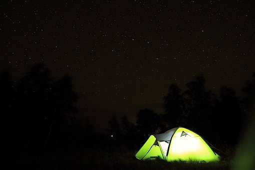 Tent, Tourism, Starry Sky, Tents, Nature, Russia