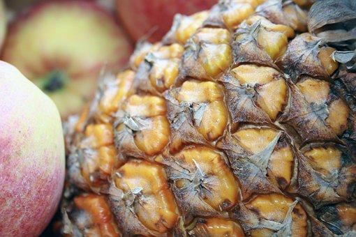 Pineapple, Juices, Fruit, Drink