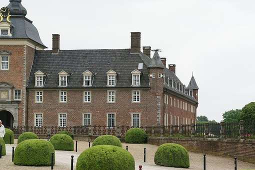 Anholt, Castle, Isselburg, Germany, Arhcitecture