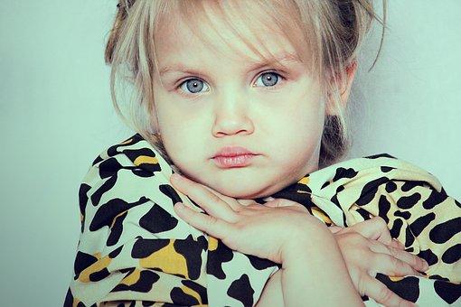 Girl, Child, Pretty, Cute, Portrait, Person, Human