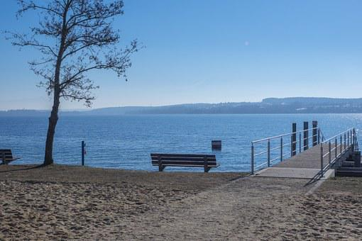 Lake Constance, Park Bench, Bench, Resting Place, Web