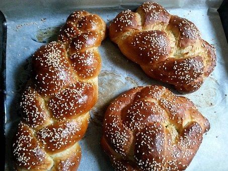 Bread, Baked, Jewish, Kosher, Homemade