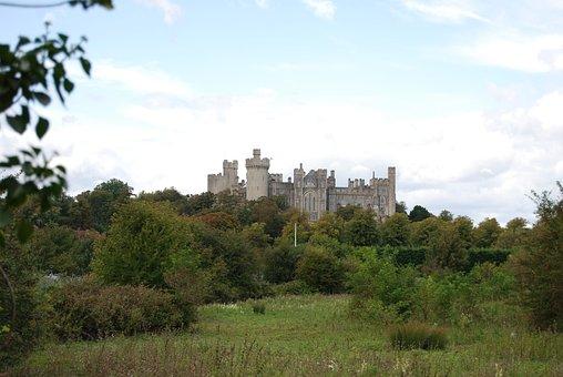 Castle, Tower, Historical, Arundal, Landmark, Scenic
