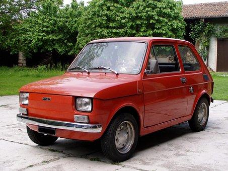 Fiat 126, Auto, City Car, Motor Vehicle, Fiat, Vehicle