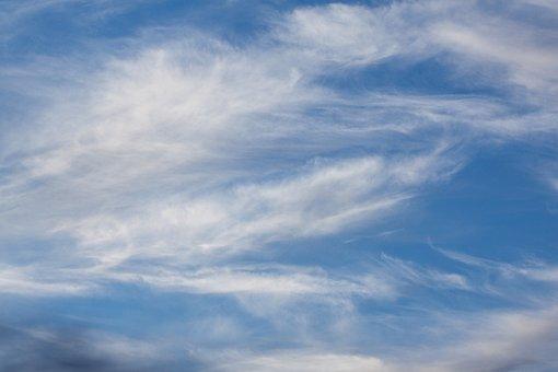 Cirrus Clouds, Clouds, Blue, Sky, Cloud, Clear, Sunny