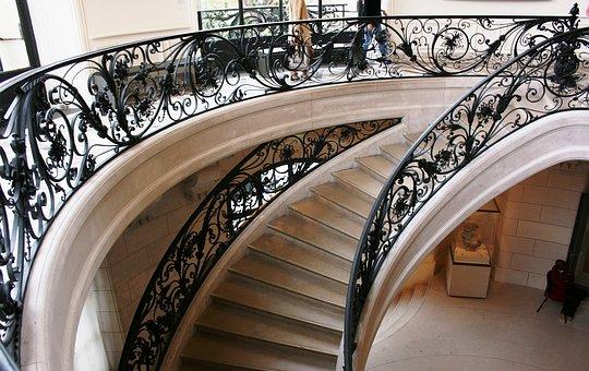 Staircase, Art Nouveau, Petit Palais, Paris, France