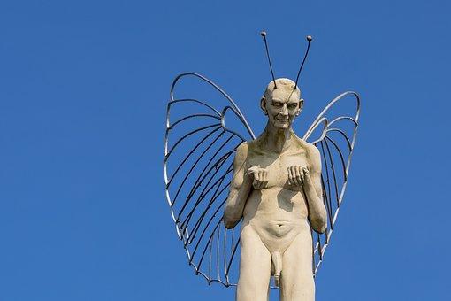 Angel, Devil, Dear, Duality, Equality, Evil, Sky, Blue