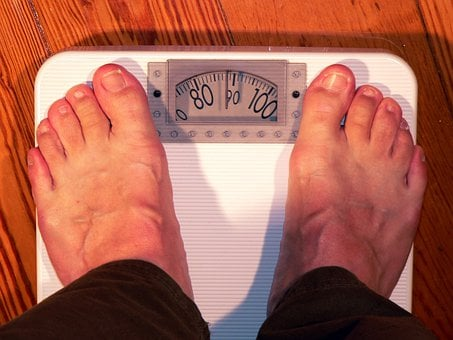 Horizontal, Bathroom Scale, Weight, Weigh, Coloring
