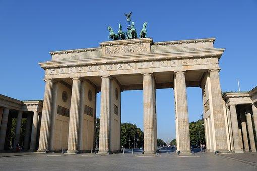 Brandenburg Gate, Berlin, Capital, Landmark, Quadriga