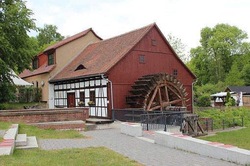 Water Mill, Old, Mill, Flour Mill, Mill Wheel, Shellers