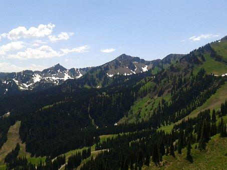 Mount Rainier, Peak, Mountains, Washington, Mt