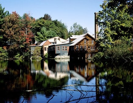 Mill, Building, Old Mill, Old, Historically, Flour Mill