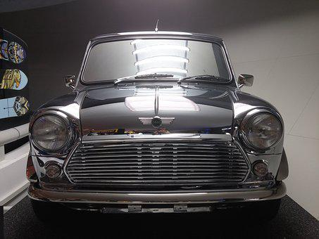 Car, Chrome, Cooper, Mini, Vintage, Vehicle, Oldtimer