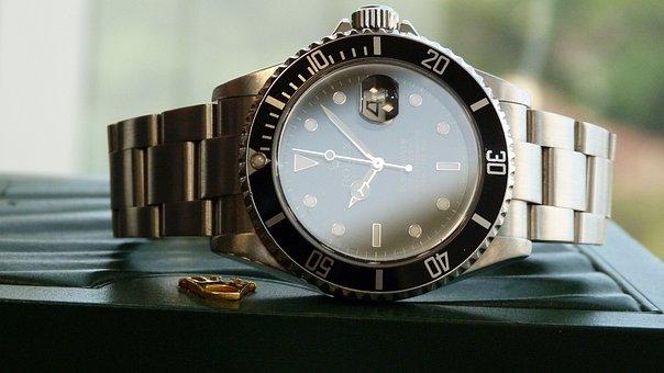 Watch, Rolex, Submariner, To Watch, Male, Accessories