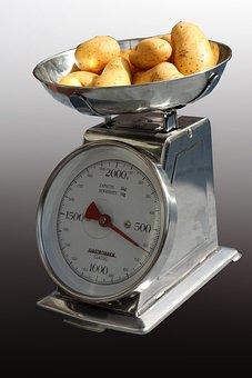 Kitchen Scale, Horizontal, Kitchen Utensil, Weigh
