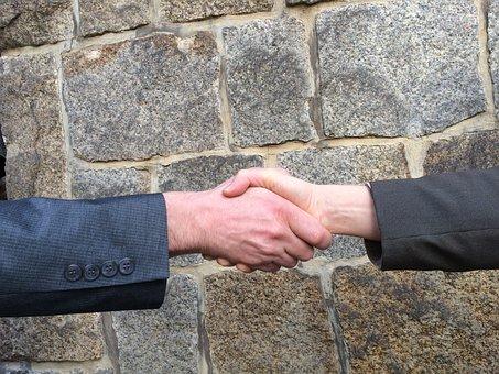 Handshake, Hands, Shaking Hands, Negotiation, Welcome