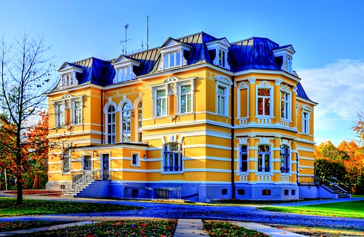 Erckens Villa, Architecture, Building, Villa