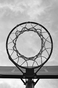 Sport, Basketball, Basket, Net, Urban