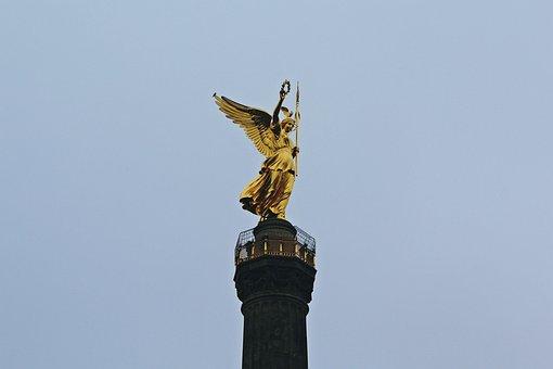 Siegessäule, Berlin, Capital, Landmark